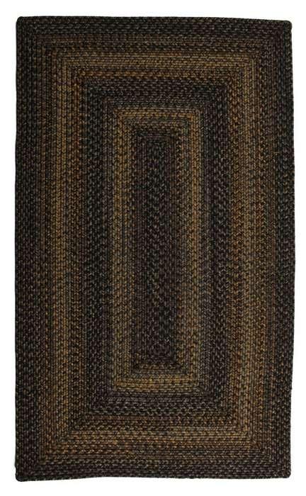 Black Forest Braided Rug
