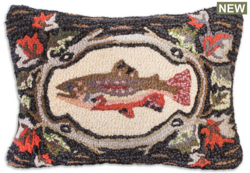 Maple Trout Pillow