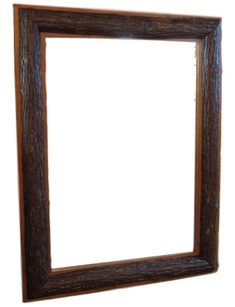 Rustic Hickory Mirror