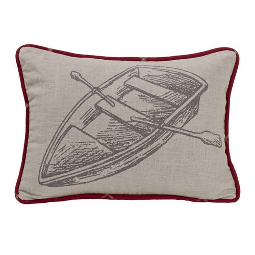 Row Boat Pillow