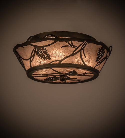 Pinecone Ceiling Light