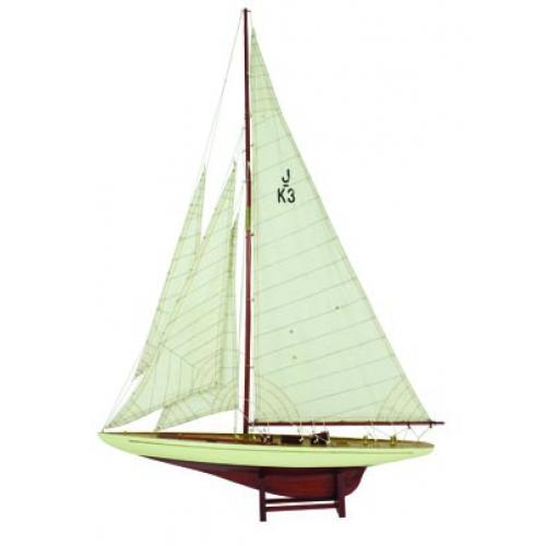 Shamrock Model Sailboat