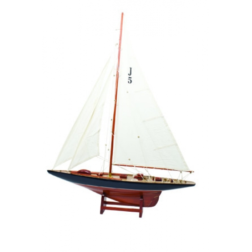 Classic Yacht Sailboat Model