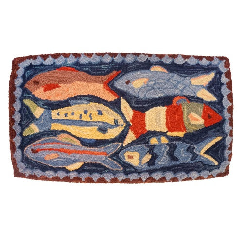Swimming Fish Pillow - 16 x 28