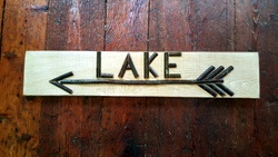Twig Lake Sign