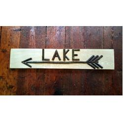 Twig Lake Sign
