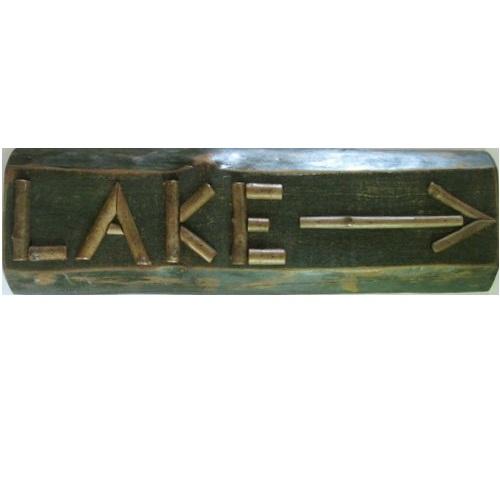 Twig Lake & Arrow sign