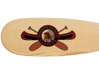 Beaver Tail Paddle with Large Winni Canoe Logo
